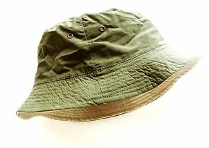 872e8d839 Details about LADIES REVERSIBLE BUSH HAT safari sun bucket cap cream olive  hiking walking