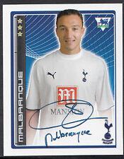 Merlin Football Sticker - 2007 Premier League - No 443 - Tottenham - Malbranque