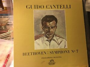 LP-Proofed-LP-BEETHOVEN-Symp-7-Philharmonia-Orch-GUIDO-CANTELLI-Wooden-SPINE