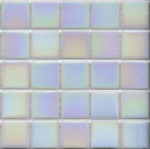Image Is Loading 25pcs Bisazza Gloss Pearl Gl 01 White