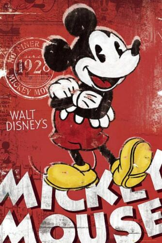 Red Mickey Mouse Maxi Poster 61cm x 91.5cm new and sealed