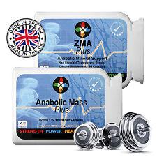ZMA-Anabolizzanti Bodybuilding Integratore guadagni muscolare Puro Non Steroidi Testosterone