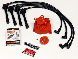 1999 honda civic distributor wiring diagram distributor cap + rotor + wires + msd spark plugs 96-00 ...