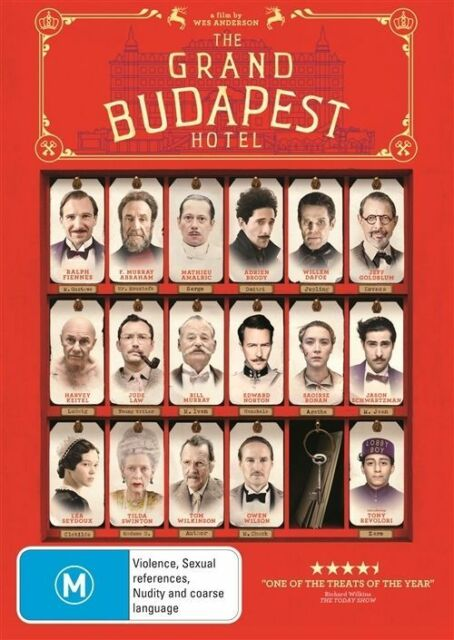 The Grand Budapest Hotel   DVD    300