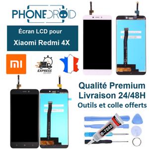 Ecran-complet-LCD-tactile-Xiaomi-Redmi-4X-Outils-et-colle-stock-FR