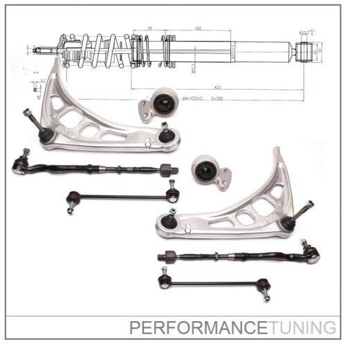Kit -8 pcs- Bras de Suspension Avant Droite Z4 BMW Série 3 E46 Gauche