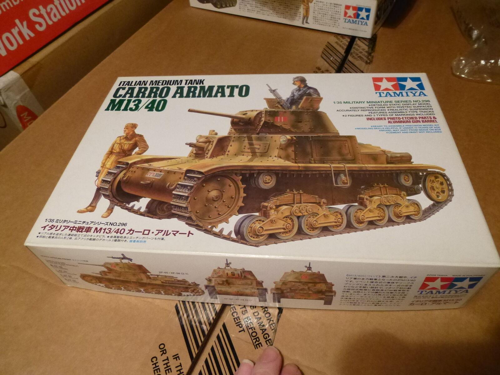 Tamiya 1 35 Italian Medium Tank Carro Armato M13 40