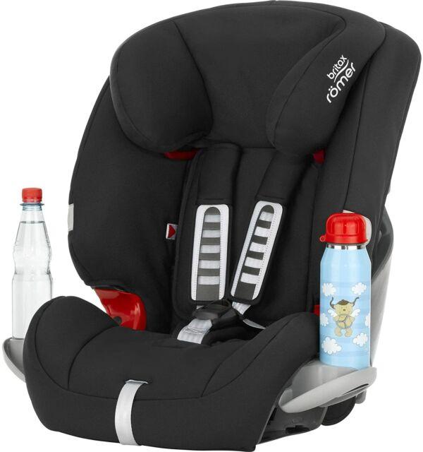 Britax Römer Car Seat 9-36 kg EVOLVA 1/2/3 w/ 3 Point Seat Belt Cosmos Black