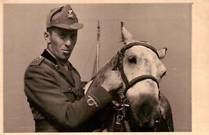 FOTO DEL 1939 - MILITARE REGIO ESERCITO ARTIGLIERIA A CAVALLO - NOVARA -