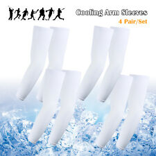 4 x   Sun UV Cooling Arm Sleeves for Cycling Basketball Football Running Sports