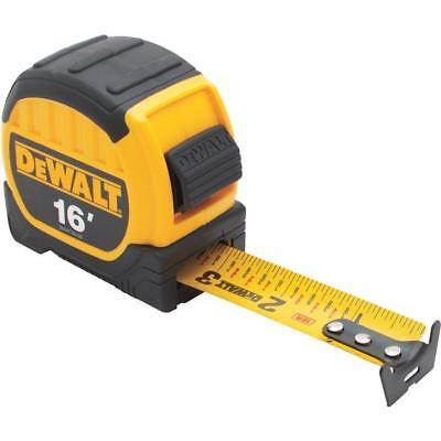 "(3)-dewalt 16' X 1-1/8"" Wide Blade Sae Locking Tape Measure Dwht36105"