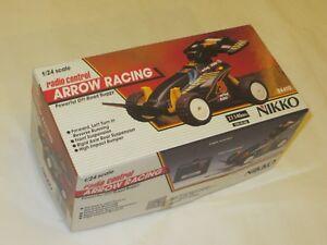 NIKKO VINTAGE ARROW RACING 1/24 RADIO CONTROL  24410 OLD RARE