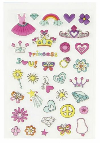 Sticker Set Cooky Prinzessin Maildor 34 tlg 3D Sticker