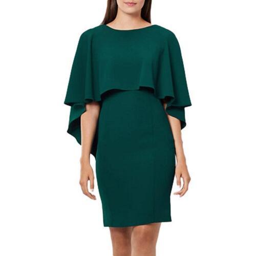 Taglia 12-RRP £ 99 Etichetta Nuovo di zecca con Coast-CRESSIDA Cape Shift Dress