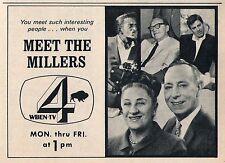 Tv Ad~Meet The Miller~Bill & Mildred~WBEN~Buffalo,New York~Colden Turkey Farm