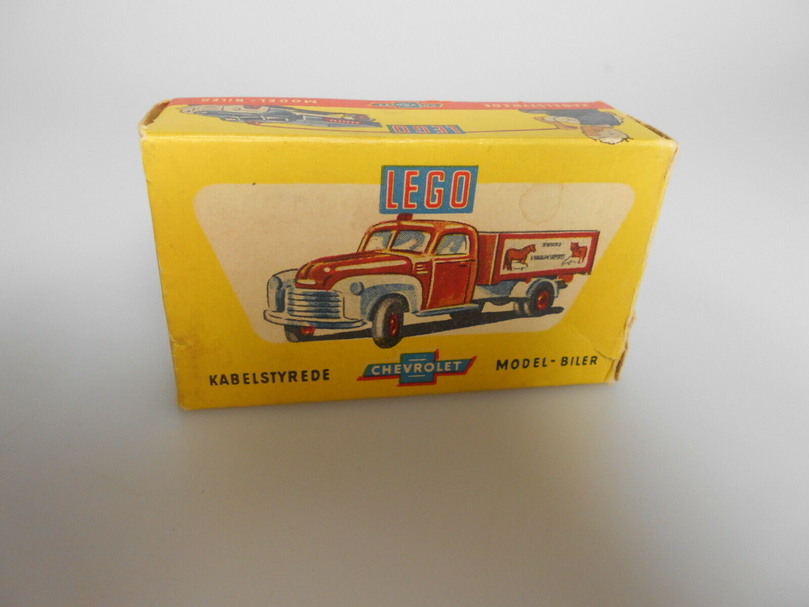 Lego® Chevrolet Dansk ESSO Auflieger  Model Biler 1 43 50er Jahre mit Box