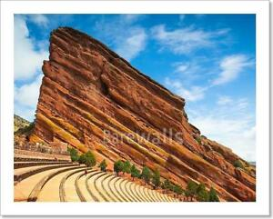 4fb7740f246 Famous Red Rocks Amphitheater In Art Print Home Decor Wall Art ...