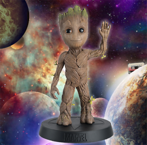 MARVEL MOVIE COLLECTION MEGA SPECIAL  BABY GROOT  FIGURINE (EAGLEMOSS)