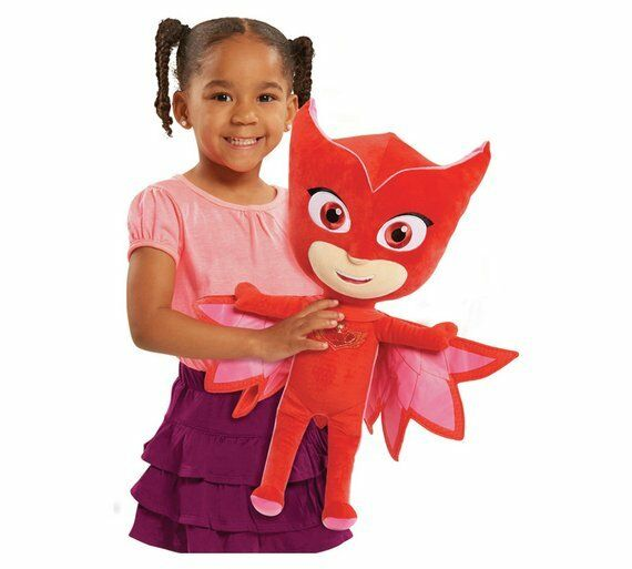 PJ Masks Jumbo Soft Toy Ultra-Soft And Cuddly Version Of The High Flying Owlette
