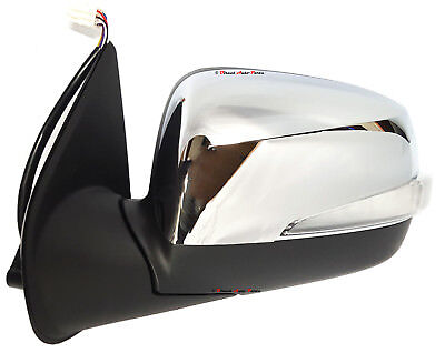 NEW DOOR MIRROR for HOLDEN RODEO RA 2003-2008 RIGHT ELECTRIC CHROME INDICATOR