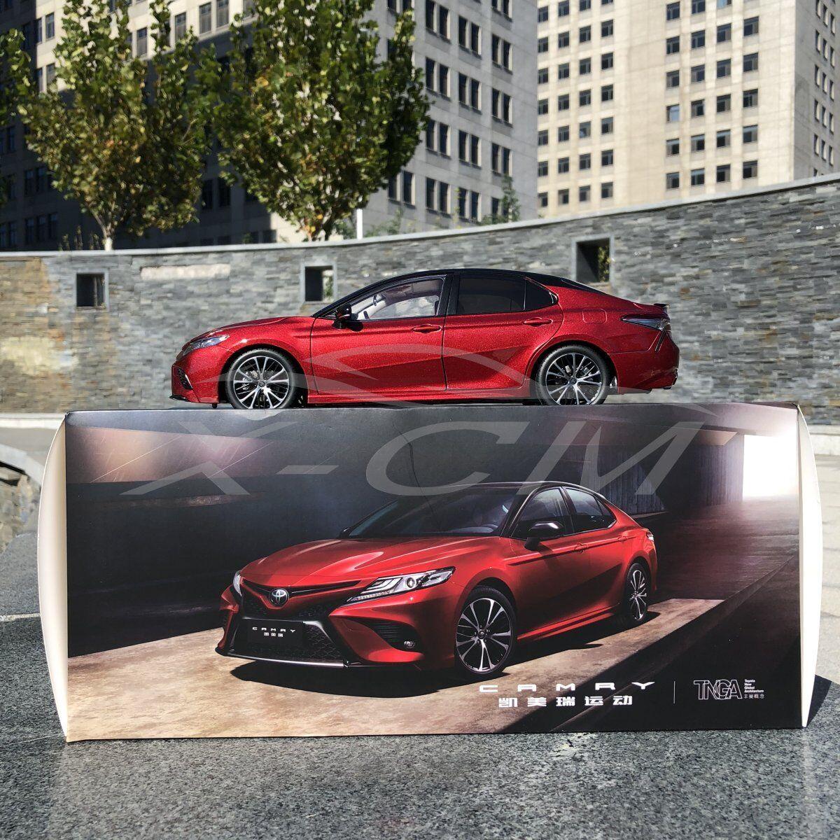 Diecast voiture Model All nouveau Toyota Camry Sport 1  18 (rouge) + GIFT  marchandise de haute qualité et service pratique et honnête