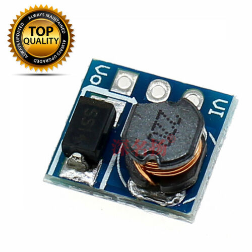 Micro DC-DC Step up Converter to 5V Boost Power Supply Module Fit For Arduino