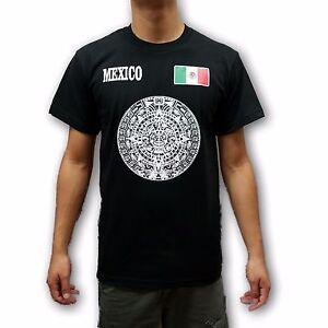 Image is loading Mexico-Black-amp-White-Aztec-Calendar-Men-039- 6fc1d67cb