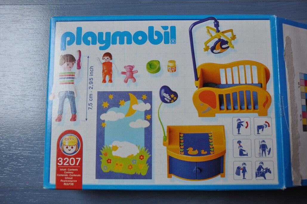 Playmobil - 3207 3207 3207 Maman Chambre de bébé La Maison ...