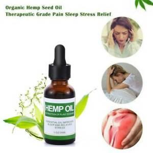 Best-Hemp-Oil-Drops-for-Pain-Relief-Stress-Sleep-PURE-amp-ORGANIC-30ml-Hot