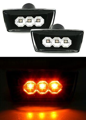 2 CLIGNOTANTS LATERAUX NOIR LED OPEL ASTRA J UNIQUEMENT GTC 1.4 10//2011-AUJOURD/'