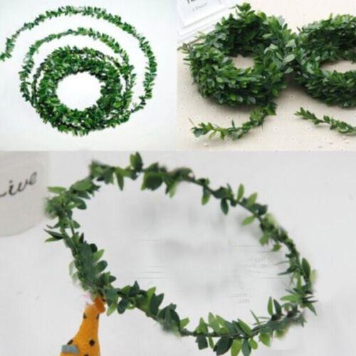 Green Artificial Eucalyptus Garland Hanging Rattan Wedding Greenery Table Decor