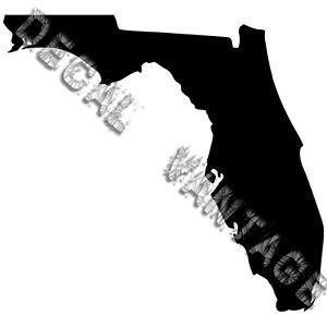 Florida-Vinyl-Sticker-Decal-State-FL-Choose-Size-amp-Color