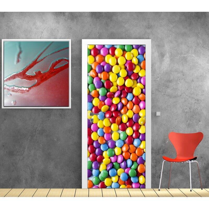 Poster Poster per Porta - Candy 731 Art Déco Adesivi