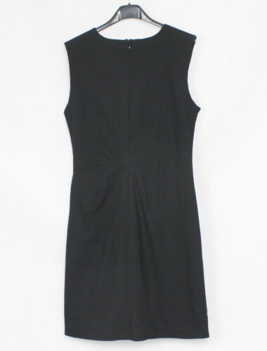 Schwarz Business Elegante 36 Dress Shift Remix Kleid Designers Ärmellos Skater 0tqBpnw
