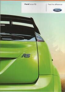 brochure folder 2009 FORD FOCUS RS !!! basis for WRC _ german text_ ____________