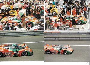 MAZDA-767-CHARGE-202-GROUP-C-LE-MANS-24-1989-7-PERIOD-PHOTOGRAPH-TAKASHI-YOTINO