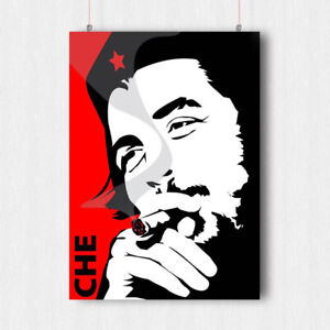 BUY 2 GET ANY 2 FREE CHE GUEVARA POSTER ART PRINT A4 A3 SIZE