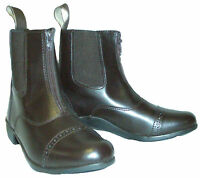 Loveson Trent Brown Front Zip Jodhpur Boot Riding Boots Uk Sizes 4, 5, 6.5
