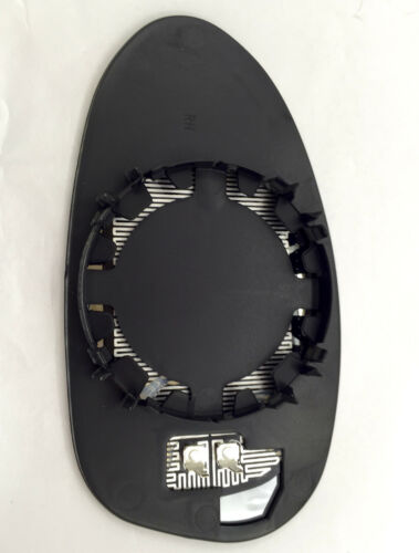 BMW 3-series E90 2005-2008 RIGHT+LEFT side Heated Door Mirror Glass Backin Plate