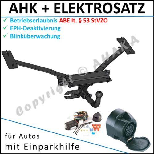 EPH-Abschaltung Einparkhilfe E-satz ES 13 ab 2004 AHK /& ES13 Volvo V50 V 50 Bj