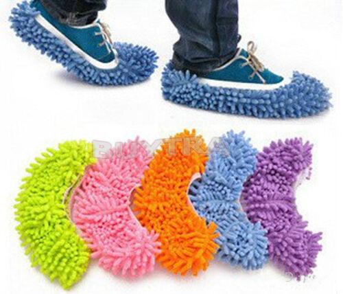 Boden Socke Schuh Mop Slipper Faul Schnell Polieren Reinigung Abstauben sam YR