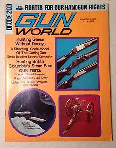 Gun-World-Magazine-Bill-Ruger-Fighter-For-Our-Handgun-Rights-weapons-Nov-1975