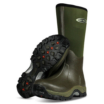 Dirt Boot ® 10 Mm Invernale In Neoprene Wellington Muck Boot Pro-sport ™ Verde-mostra Il Titolo Originale Aspetto Elegante