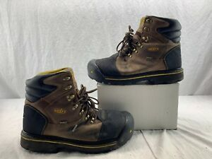 80835d913bc Details about KEEN Utility 1009174 Men's Milwaukee Steel Toe WP EH Work  Boot Dark Earth 13 EE