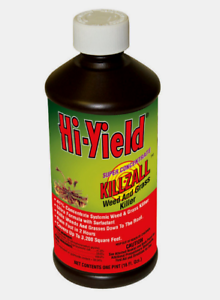 Hi-Yield-KILLZALL-Weed-amp-Grass-Killer-16-oz-Super-Concentrate-Down-To-Root-33691