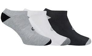 Champion-Unisex-3-Pair-Performance-Trainer-Socks-Black-White-Grey-39-46