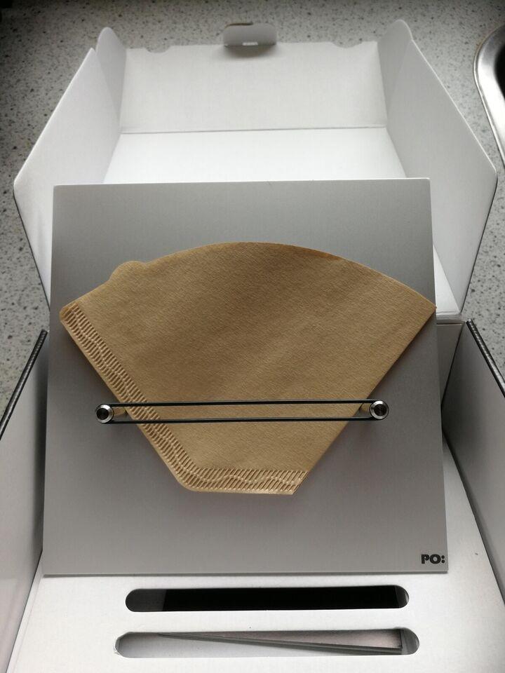 Kaffefilterholder, P.O. Design