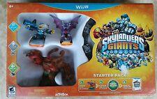 Skylanders Giants Starter Pack - Nintendo Wii U , New, Free EXPRESS Shipping