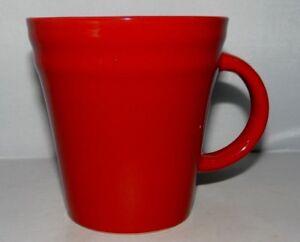 Image Is Loading Rachael Ray Double Ridge Red 12oz Coffee Mug