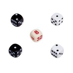 Backgammon-Juego-De-Dados-Kit-De-Recambio-Plastico